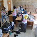 6- I volontaro del PMRS all'ospedale al-Shifa il 28 luglio 2014