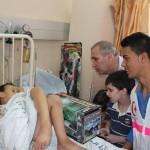 5- I volontaro del PMRS all'ospedale al-Shifa il 28 luglio 2014