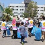 4- I volontaro del PMRS all'ospedale al-Shifa il 28 luglio 2014