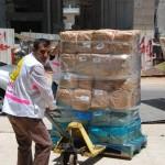2-I volontaro del PMRS all'ospedale al-Shifa il 28 luglio 2014
