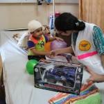 7- I volontaro del PMRS all'ospedale al-Shifa il 28 luglio 2014